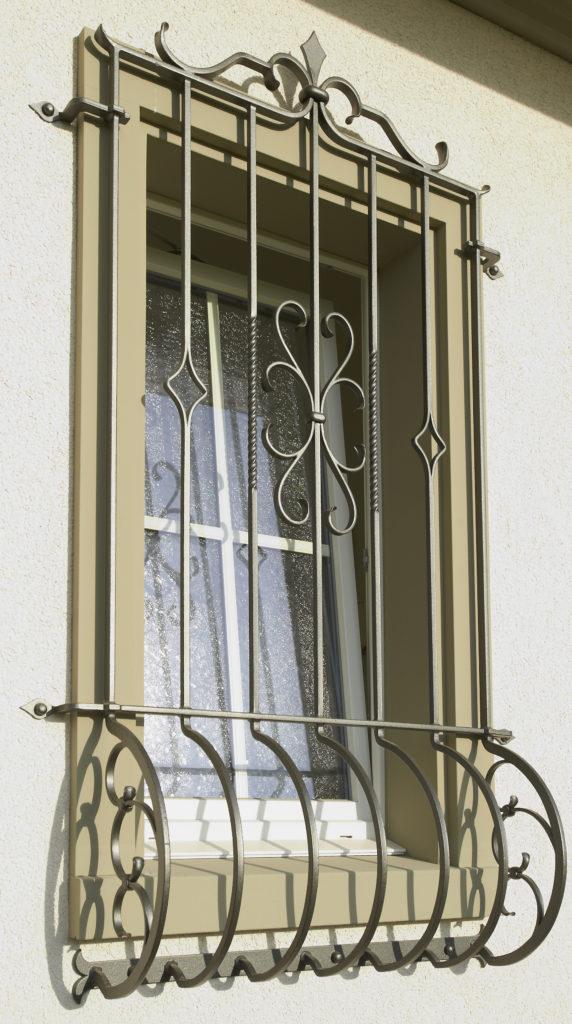 Korbfenstergitter